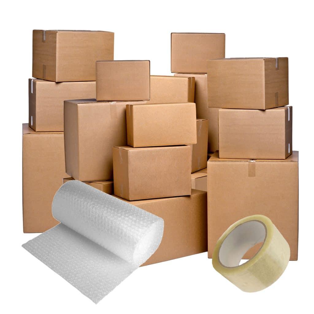 Продажба на кашони и опаковки за преместване София